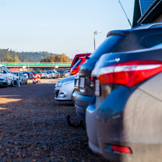 Parking Balice - powierzchnia parkingu