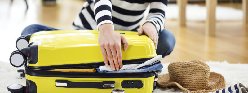 Parking Balice, pakowanie bagażu podręcznego i rejestrowanego