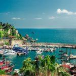 Antalya - widok na port