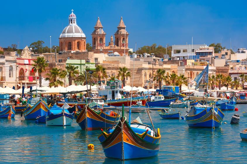 Port w Malcie - propozycja wyjazdu na urlop zimą